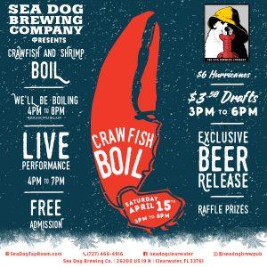 Sea Dog Crawfish Boil