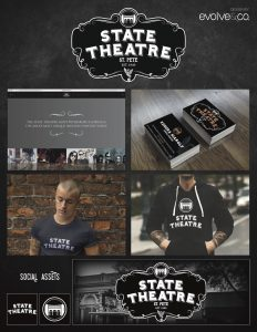 state theatre, evolve & co, st. pete, branding, graphic design