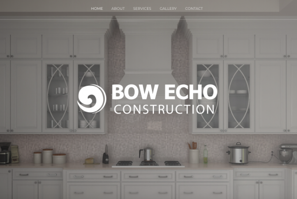 Bow Echo Construction