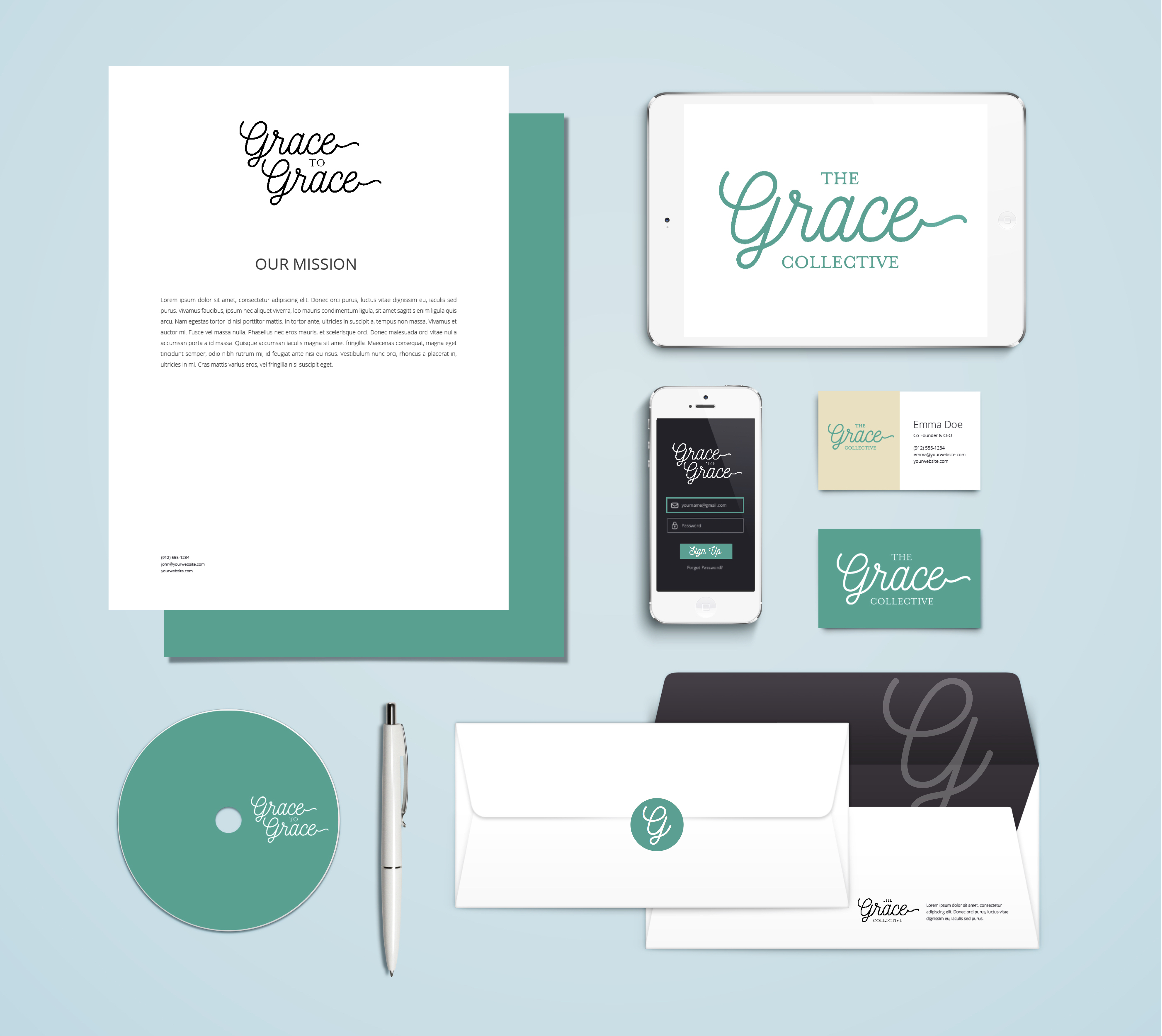 Evolve & Co Unveils Brand Identity for 'Grace'
