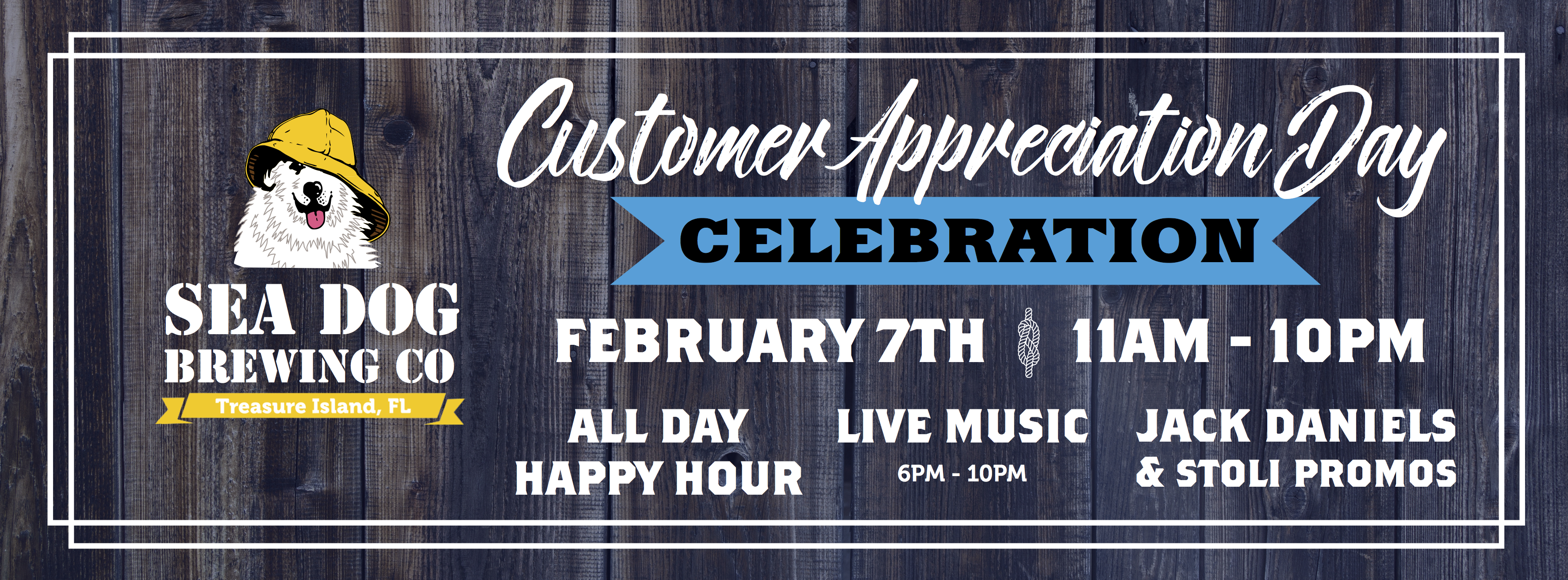 CLIENT NEWS: Sea Dog Brewing To Host Customer Appreciation Day