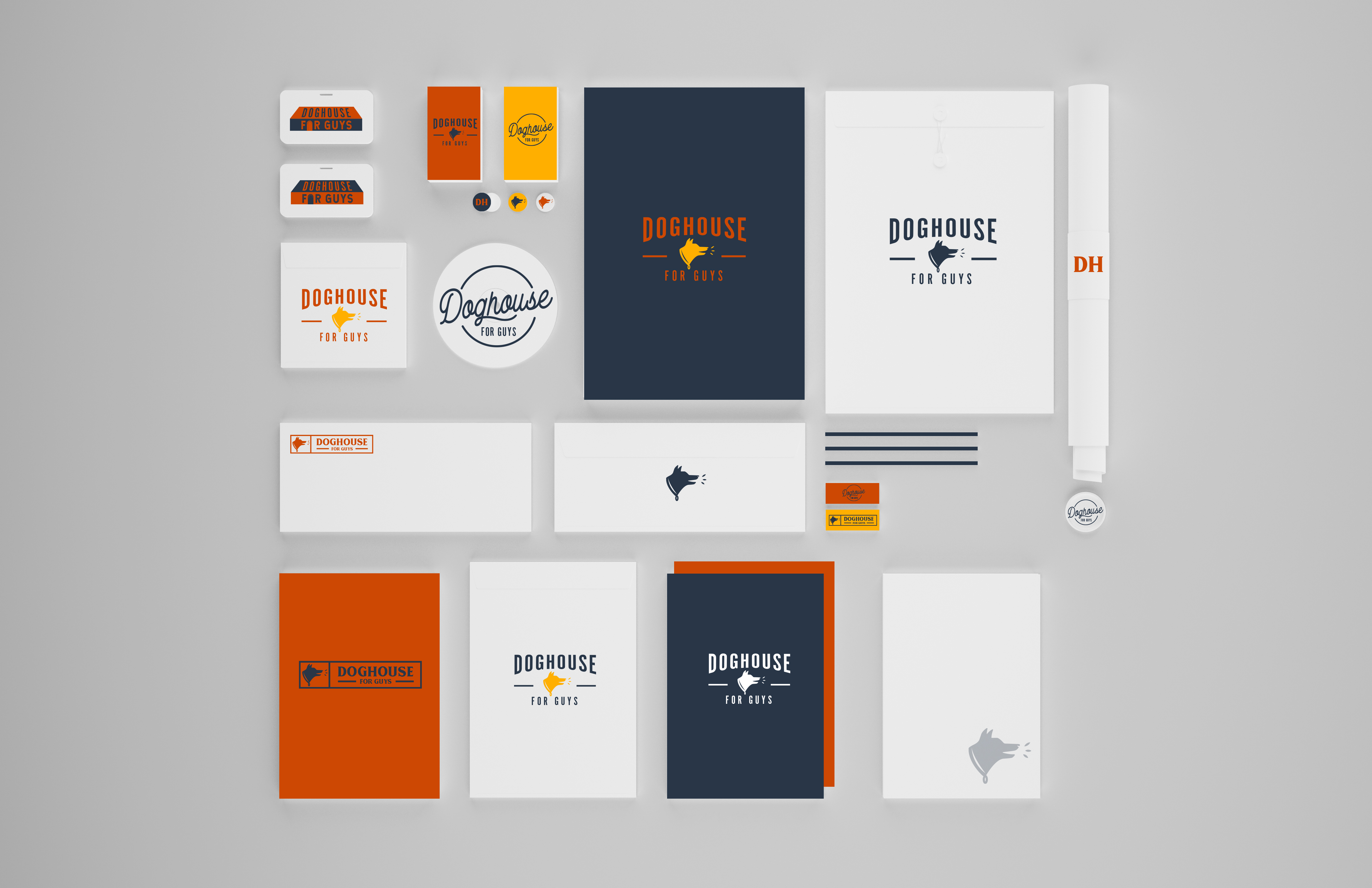 Brand Identity Reveal: Doghouse For Guys