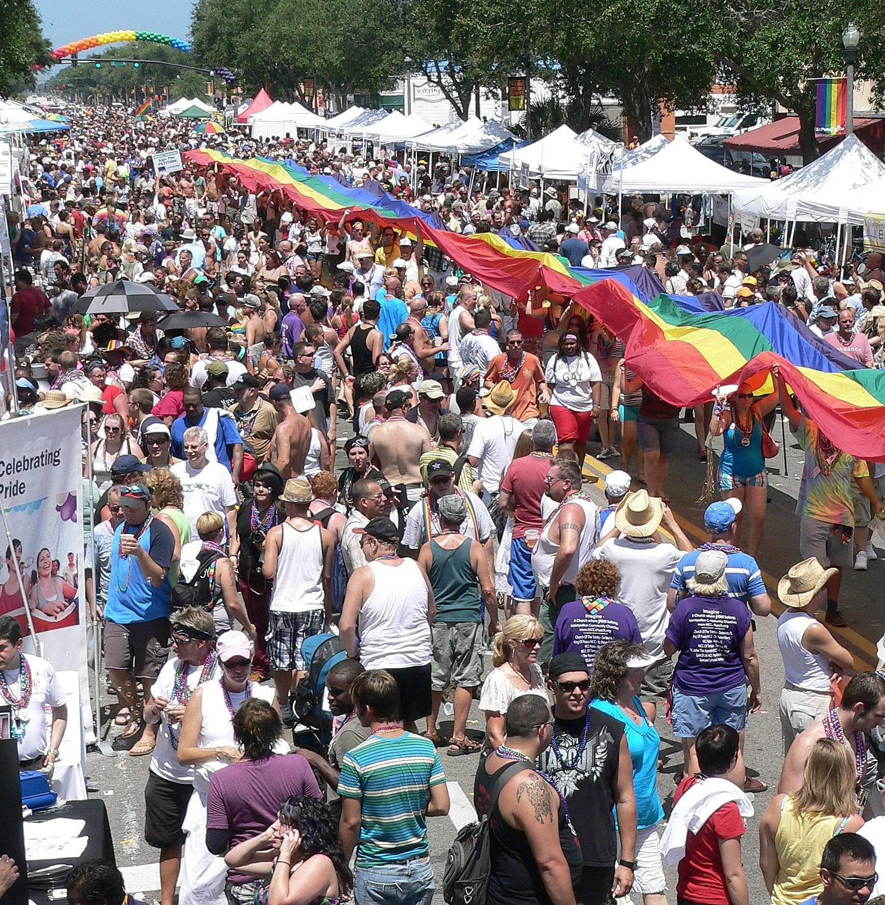 A Look Back at St. Pete PRIDE's Past