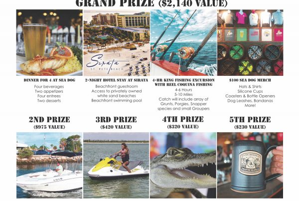 sea dog summer giveaway poster