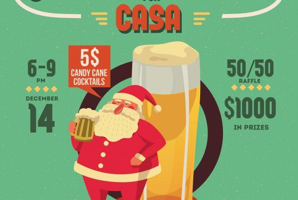 "Oyster Bar Presents: ""Jingle & Mingle"" benefiting CASA"