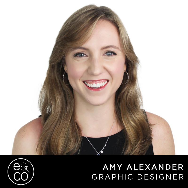 amy alexander graphic designer evolve & co st pete ad agency