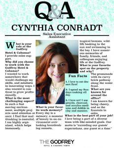 Cynthia Conradt godfrey hotel tampa sales