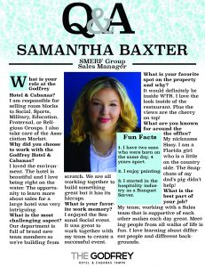 Samantha Baxter godfrey hotel tampa smerf group sales