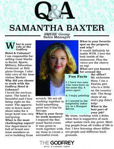 Samantha Baxter godfrey hotel tampa smerf group sales