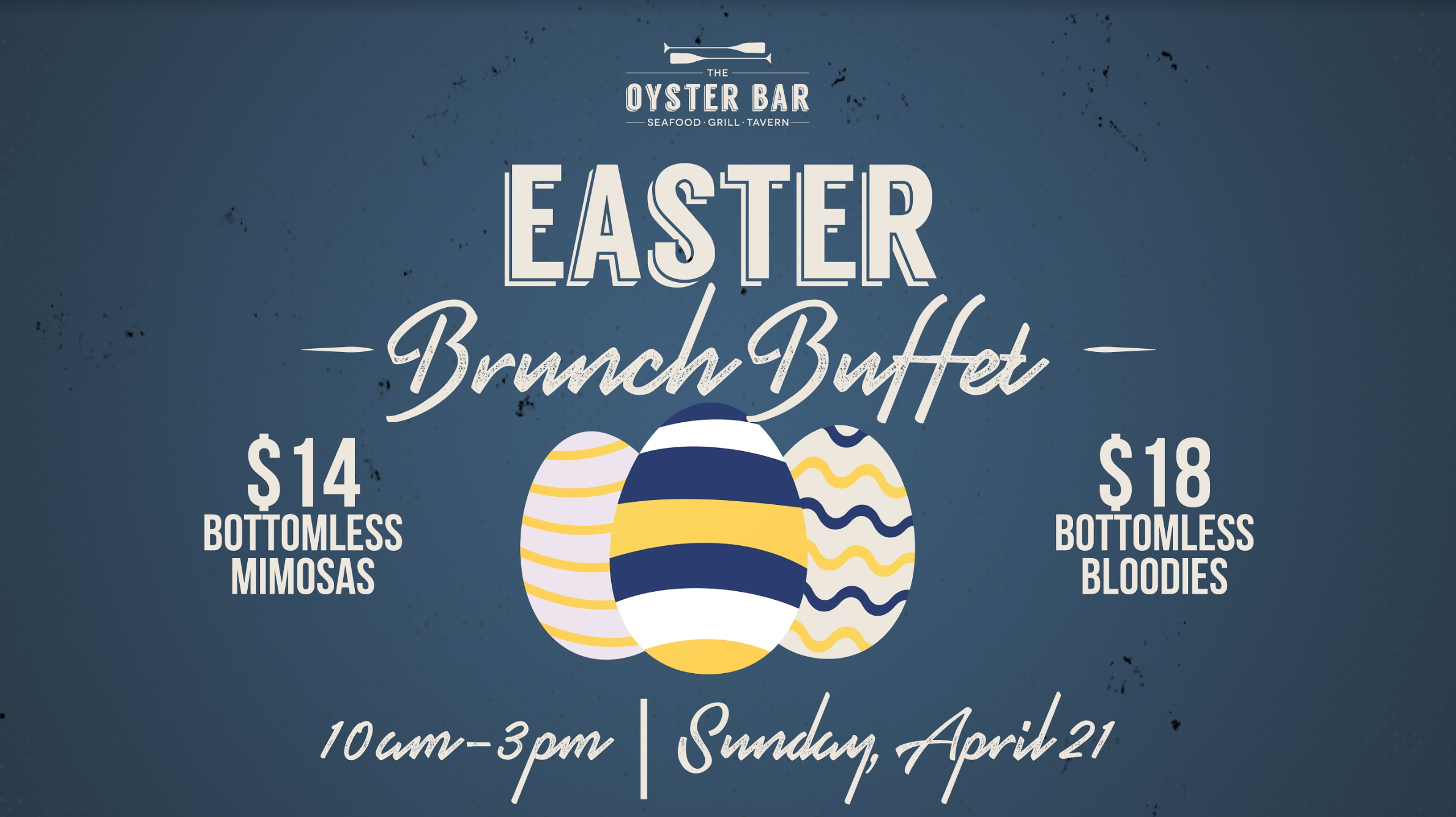 The Oyster Bar to Feature Brunch & Bubbly this Easter