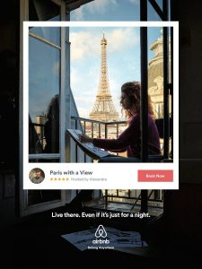 airbnb ad summer campaign evolve & co