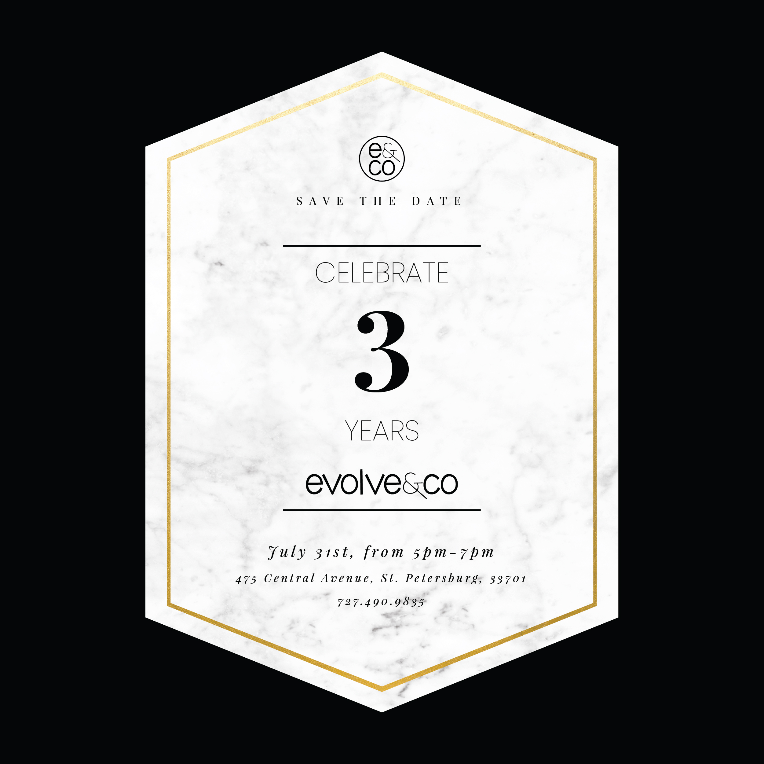 Evolve & Co Hosts Third Anniversary Reception July 31st