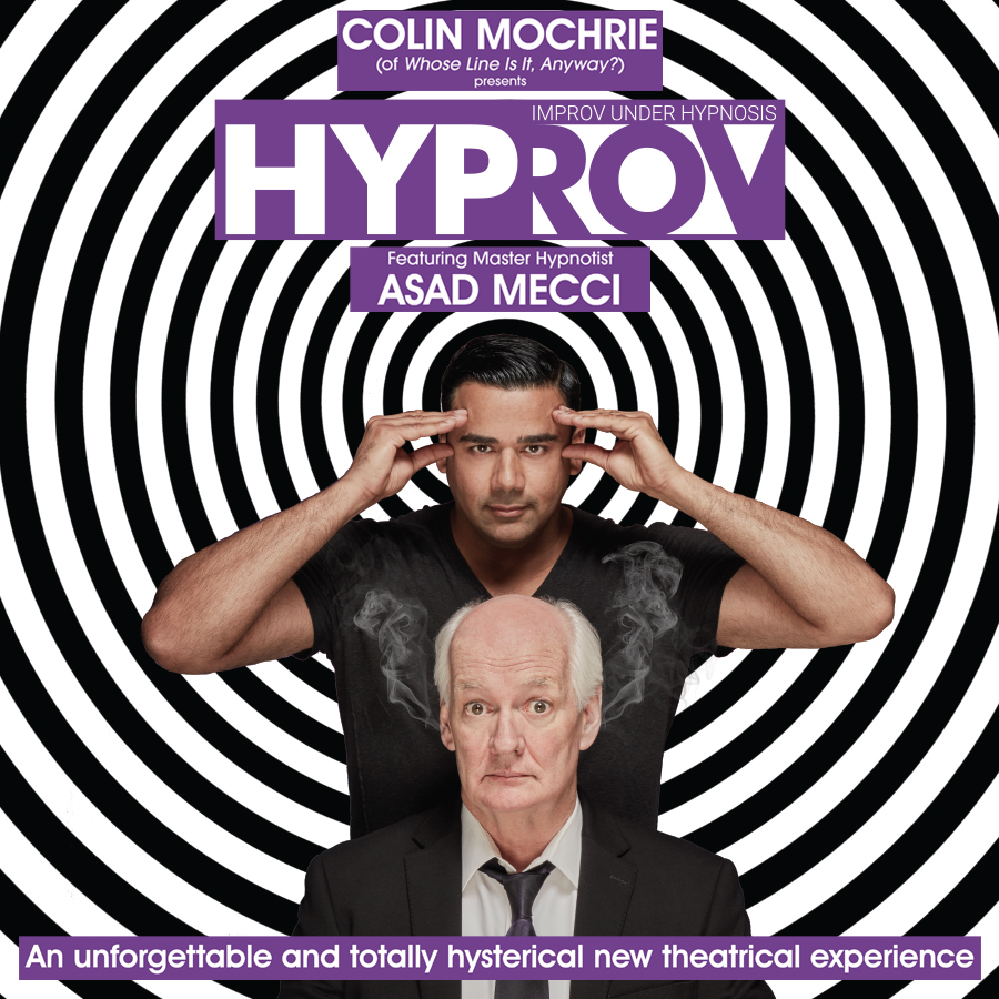 Hypnotic Comedy Comes to Duke Energy Center for the Arts – Mahaffey Theater on September 6th