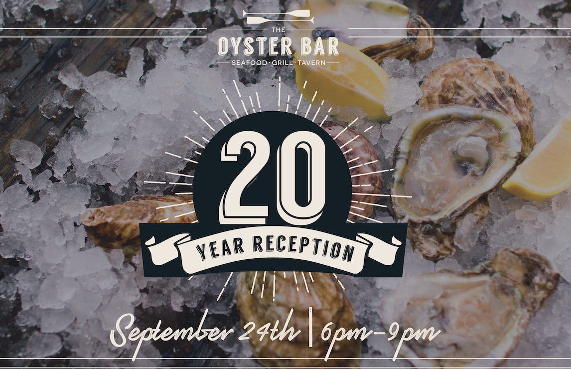 'The Oyster Bar' Commemorates 20 Years this September