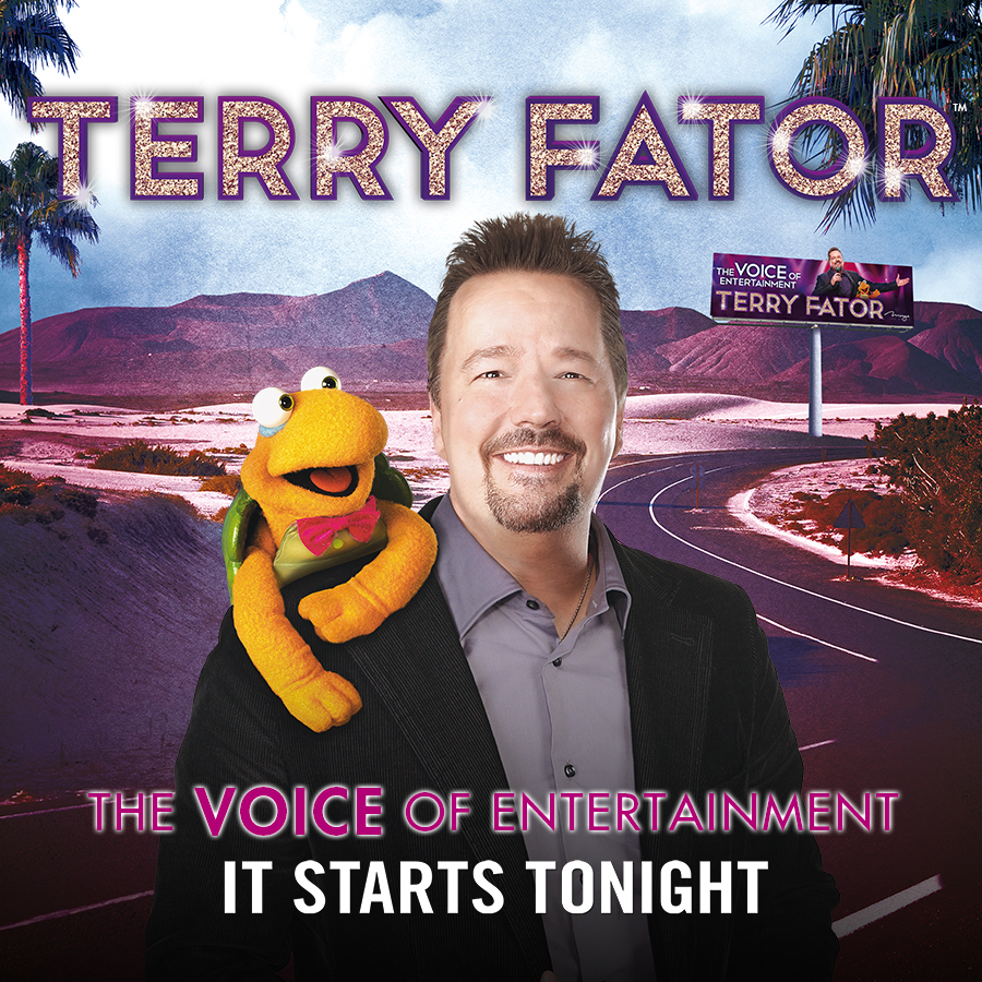 Terry Fator Headlines at Mahaffey Theater