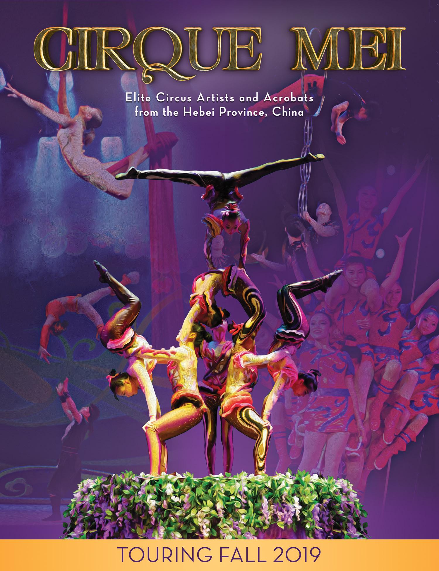 Chinese Acrobats of Hebei Illuminate Mahaffey Theater