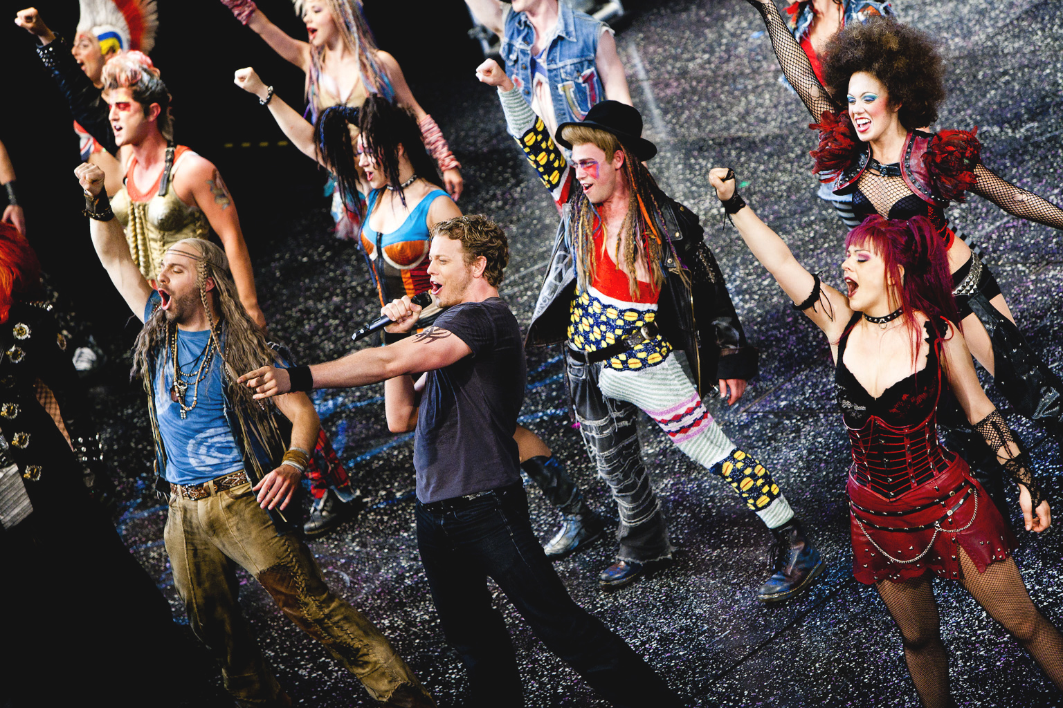 'WE WILL ROCK YOU' Rock Musical Experience Takes Stage at the Mahaffey