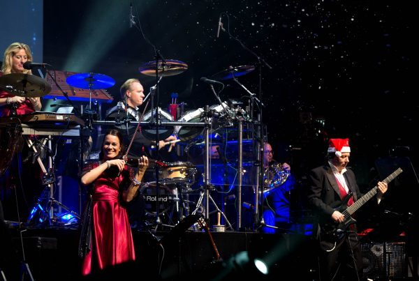 OMAHA, Neb. -- 12/23/2015 Mannheim Steamroller concert on December 23, 2014 at the Orpheum Theater in Omaha, Neb.  PHOTOS BY: SARAH HOFFMAN