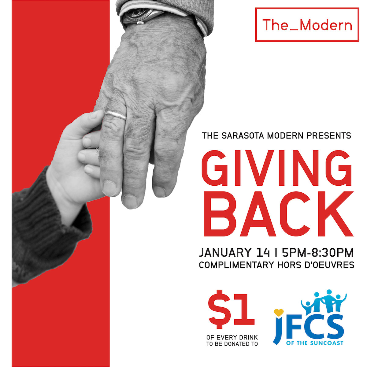 The Sarasota Modern Gives Complimentary Tastings in Benefit of JFCS