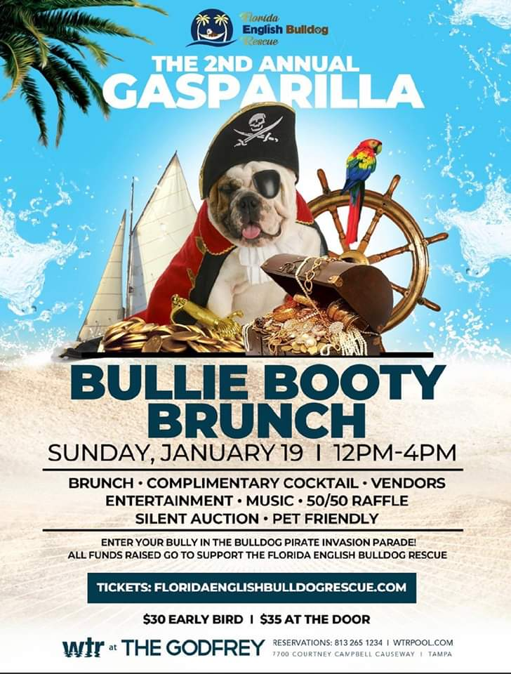 WTR Tampa Hosts 2nd Annual Bullie Booty Brunch Fundraiser