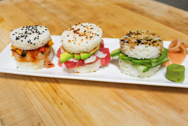 sushi sliders wtr pool & grill menu tailgate menu