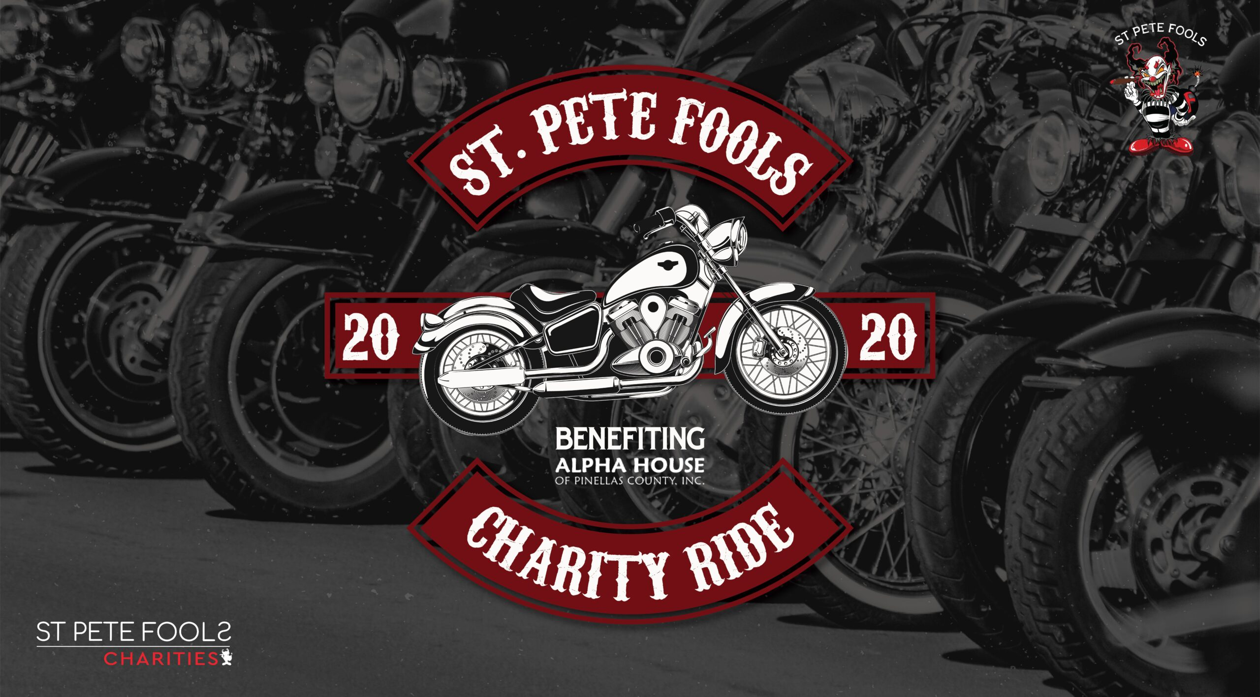 St Pete Fools Social Club Features Motorcycle Ride to Raise Funds for Alpha House