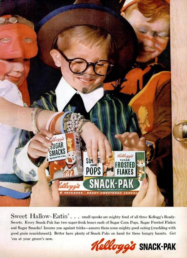 kellogg's vintage halloween ad