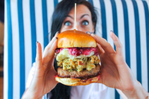 thanksgiving burger boulevard burgers evolve and co