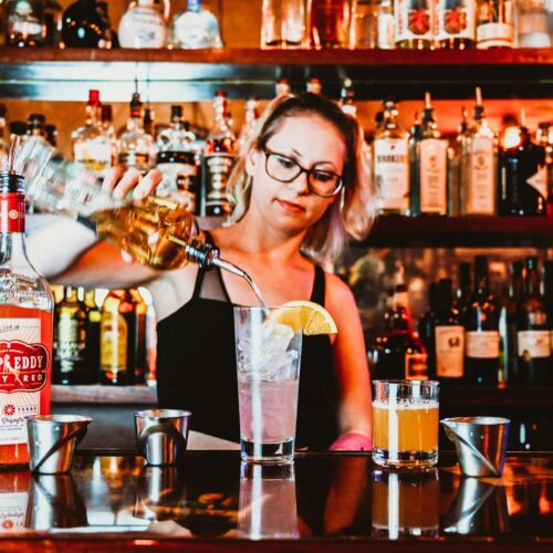 Bartender at Ruby's Elixir and Central Cigars in downtown St. Petersburg, FL