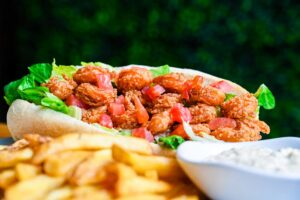 Po Boy at the Oyster Bar in downtown St. Petersburg, FL