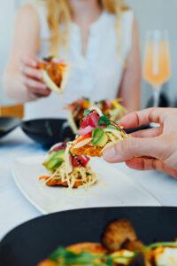 Food at The Sarasota Modern