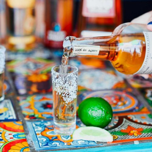 Tequila at Nueva Cantina