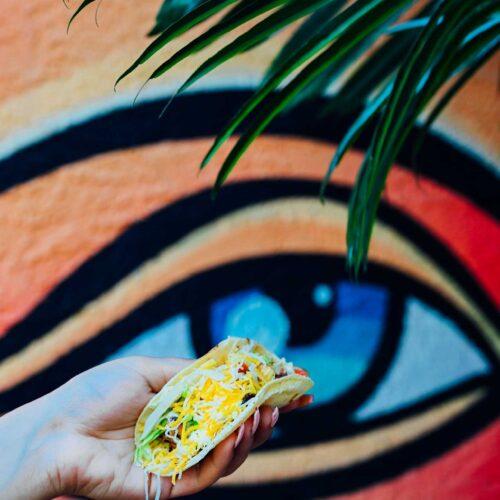 Taco at Nueva Cantina