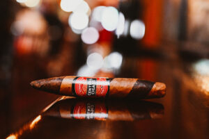 cigar at Ruby's Elixir and Central Cigars in downtown St. Petersburg, FL