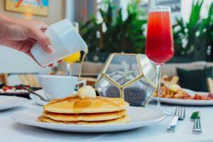 Pancakes at The Sarasota Modern