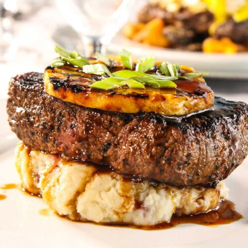 Steak at the Godfrey Hotel and Cabanas Tampa