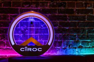 Ciroc bottle at the Crafty Squirrel