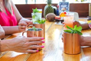 Mules at the Boulevard Burgers and Taphouse