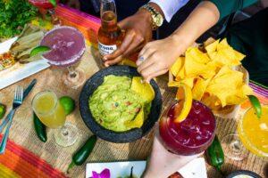 Chips and dip at Nueva Cantina