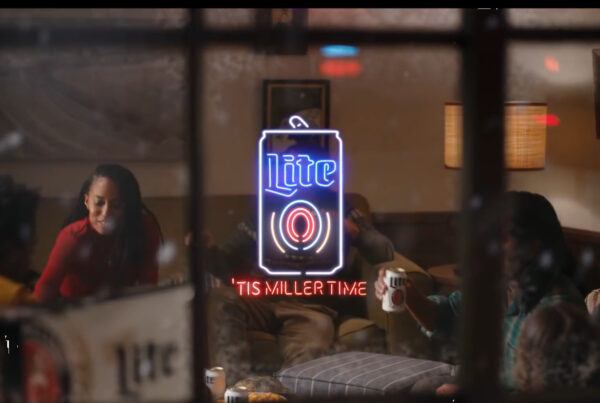 holiday ads miller lite evolve & co