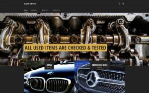 Allums Imports Website