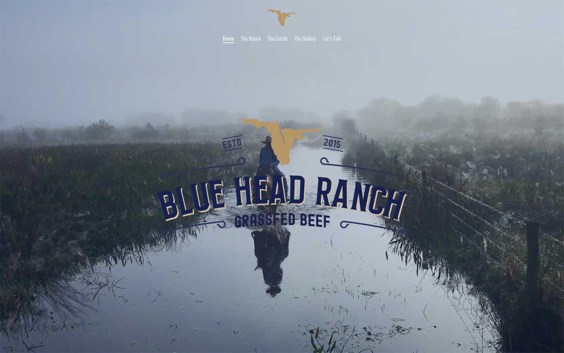 Blue Head Ranch Website