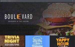 Boulevard Burgers website