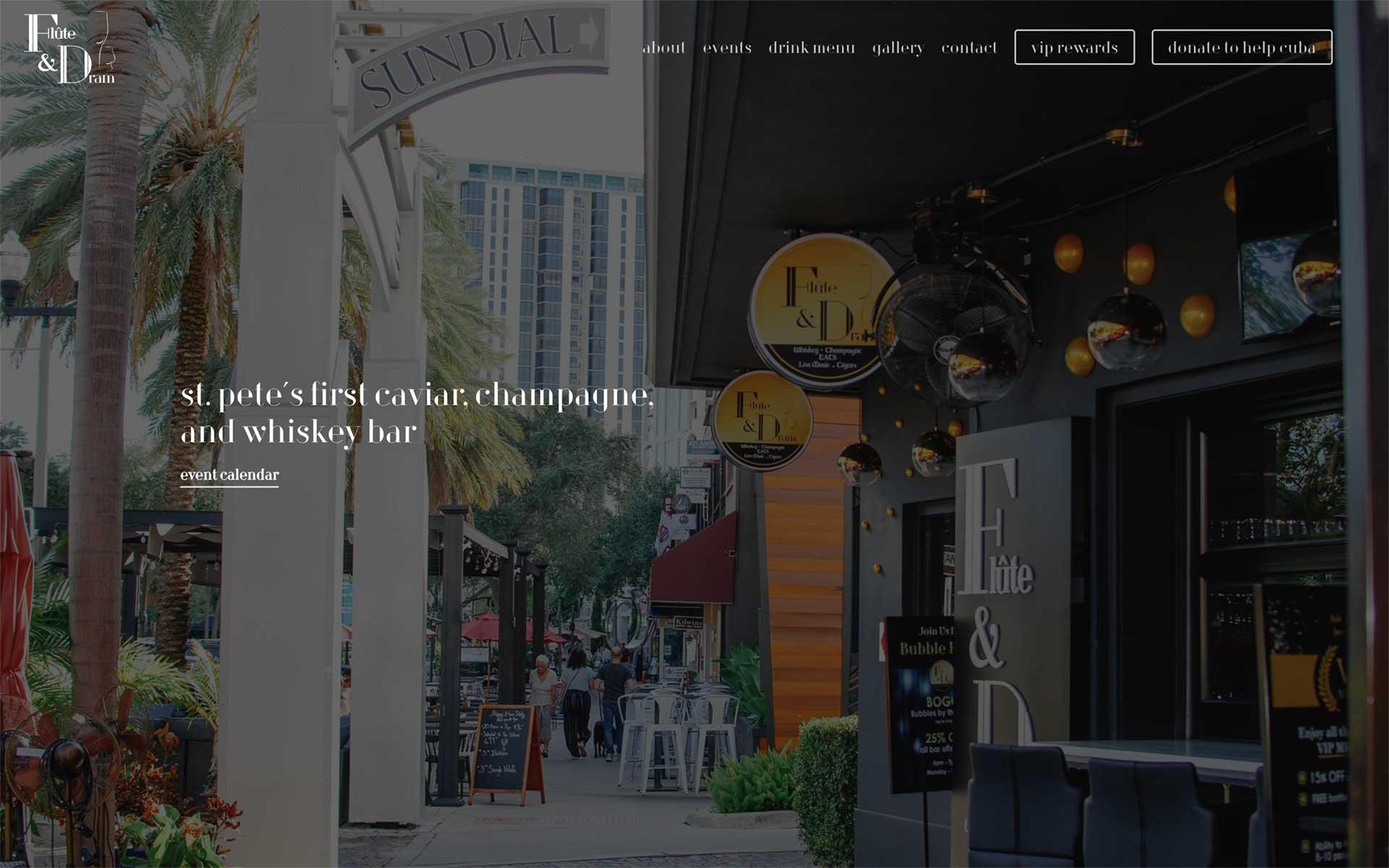 Flute and Dram website