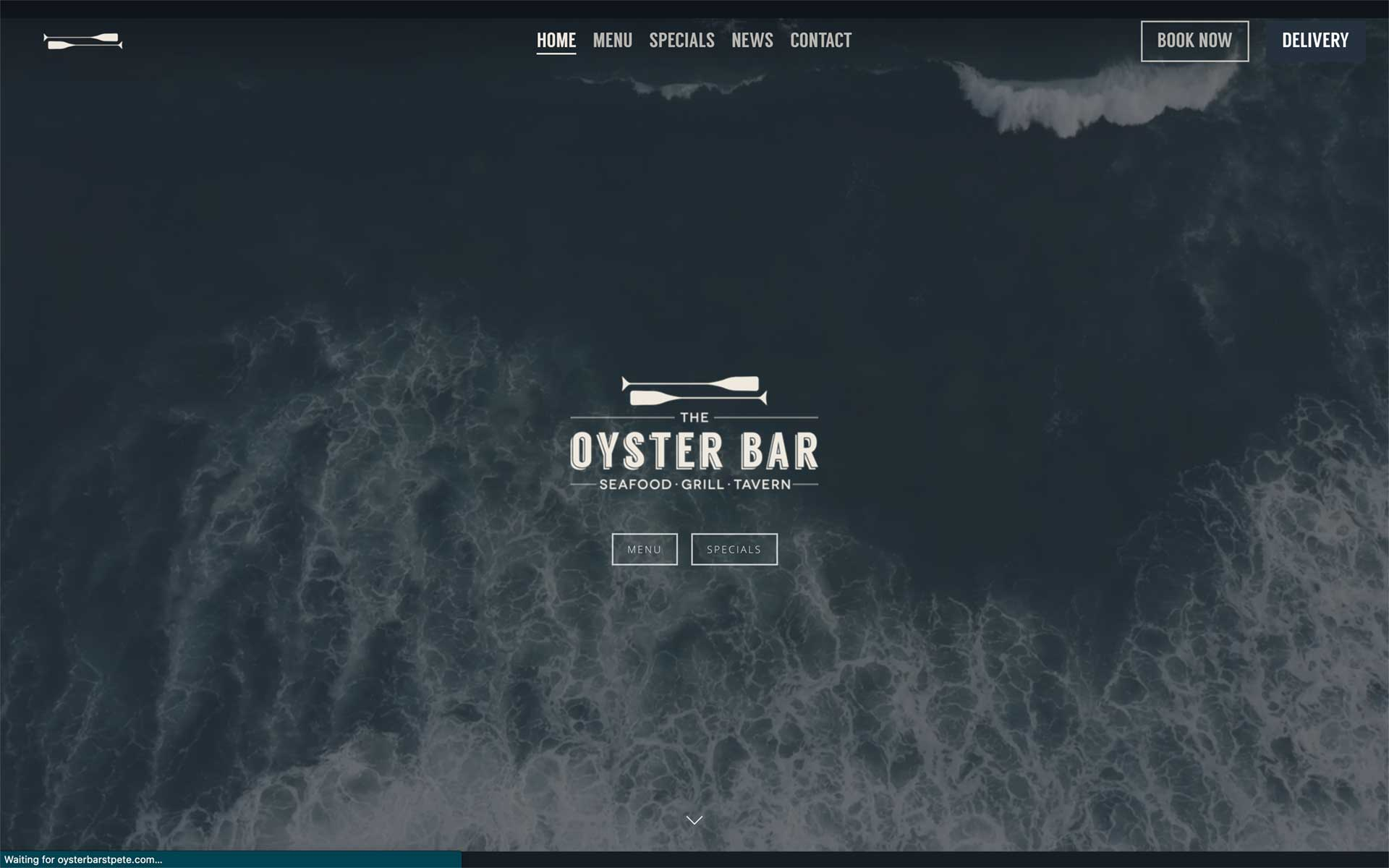 The Oyster Bar website