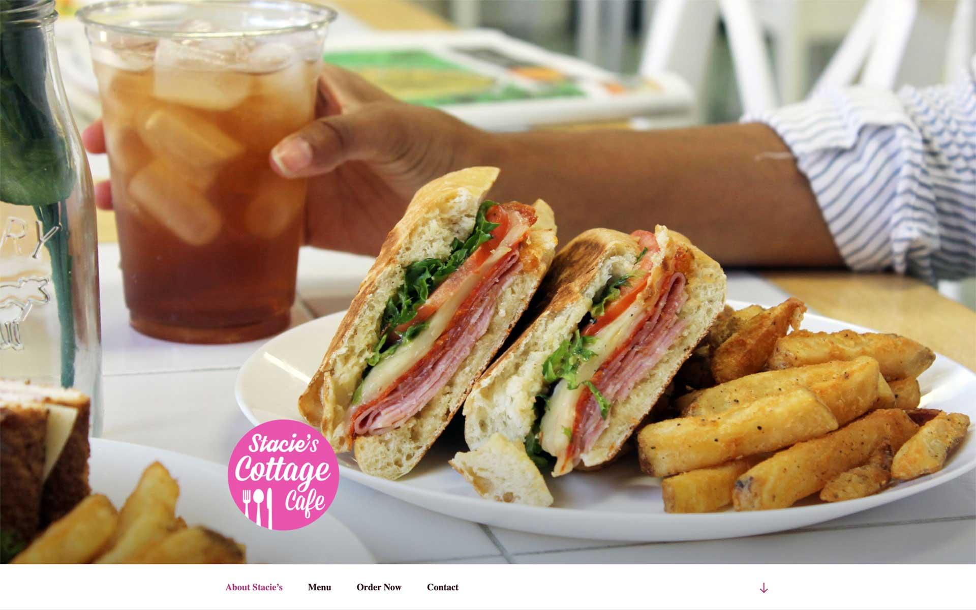 Stacie's Cottage Cafe Website