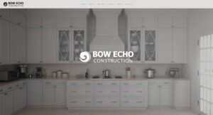 Bow Echo Construction website