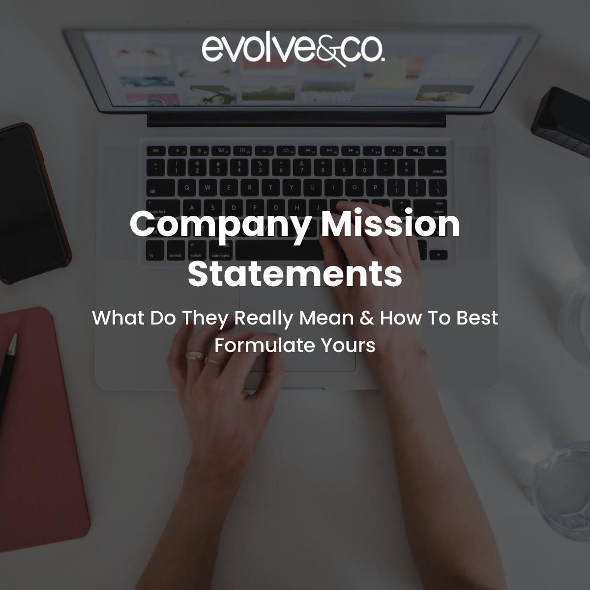 Company Mission Statements