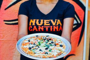 nueva cantina st pete new menu mexican pizza evolve & co