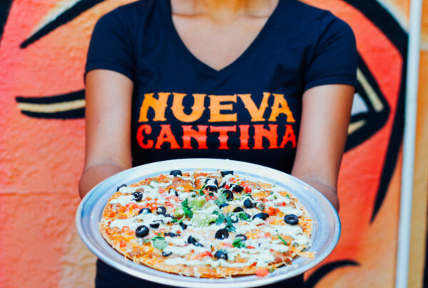 nueva cantina st pete new menu mexican pizza evolve & co